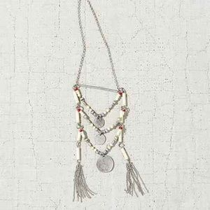 Urban Outfitters layered beaded pendant necklace